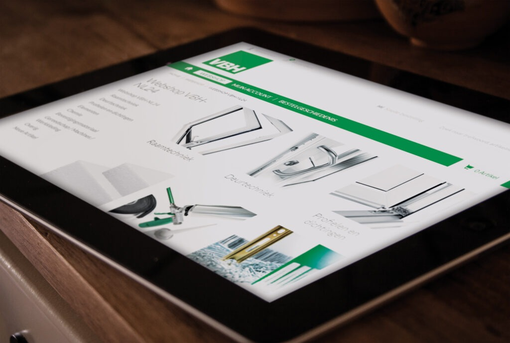 vbh24.nl draait nu ook perfect op mobile devices